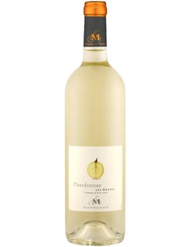 Vin Les Grains Chardonnay 2019 de Marrenon - Chai N°5