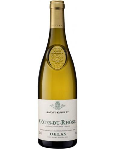 Vin Côtes du Rhône Blanc Saint-Esprit 2018 - Delas - Chai N°5
