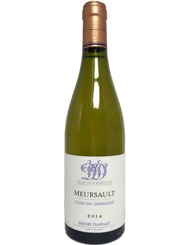 Meursault Clos du Domaine 2015 - 37.5 cl - Henri Darnat