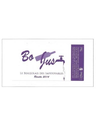 BO JUS Blanc - Le Beaujolais des Impitoyables - 2014 - Domaine Dubost - Chai N°5