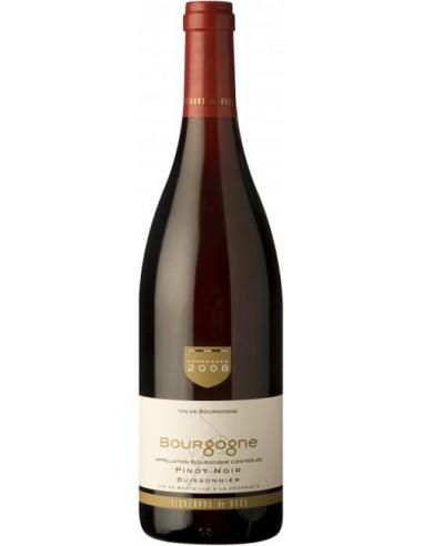 Vin Bourgogne Pinot Noir 2018 - Vignerons de Buxy - Chai N°5