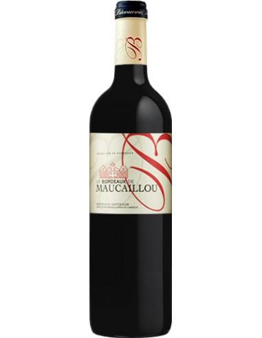 Vin Le Bordeaux de Maucaillou 2014 Bordeaux Supérieur - Chai N°5