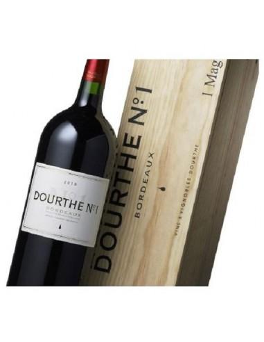 Vin Dourthe N°1 Rouge 2015 - Magnum Caisse Bois - Chai N°5