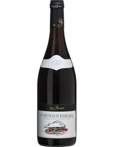 Vin Saint Nicolas de Bourgueil 2015 - 37.5 cl - Guy Saget - Chai N°5