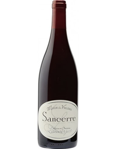 Vin Sancerre Rouge Moulin des Vrillères 2016 - Christian Lauverjat - Chai N°5