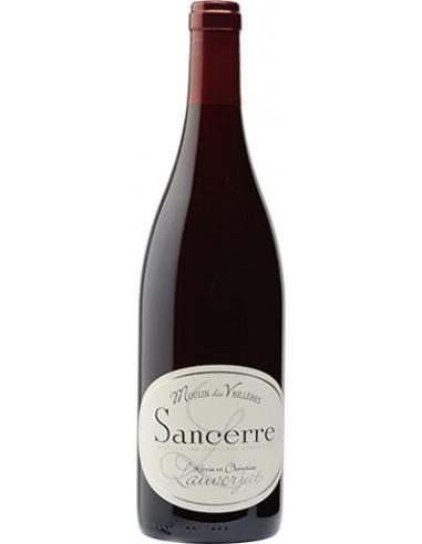 Vin Sancerre Rouge Moulin des Vrillères 2017 - Christian Lauverjat - Chai N°5