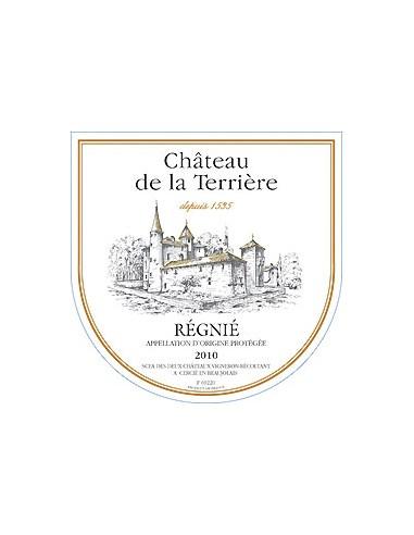 Régnié 2015 - Château de la Terrière - Chai N°5