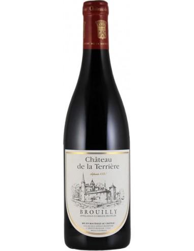 Vin Brouilly 2015 en 37.5 cl - Château de la Terrière - Chai N°5