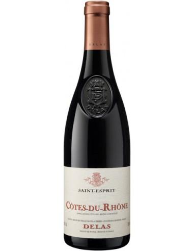 Vin Côtes du Rhône Rouge Saint-Esprit 2016 - Magnum - Delas - Chai N°5