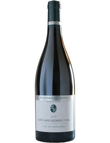 Vin Nuits-Saint-Georges 2008 Clos des Argillières - Domaine Rion - Chai N°5