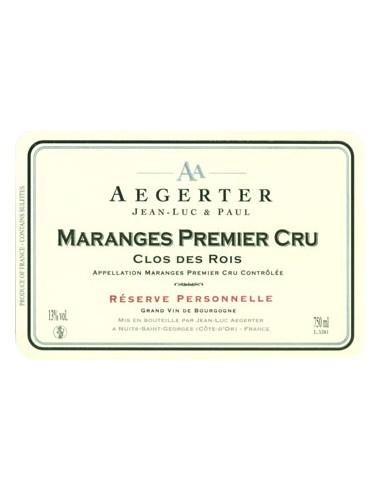 Maranges - Premier Cru - Clos des Rois - 2015 - Aegerter - Chai N°5