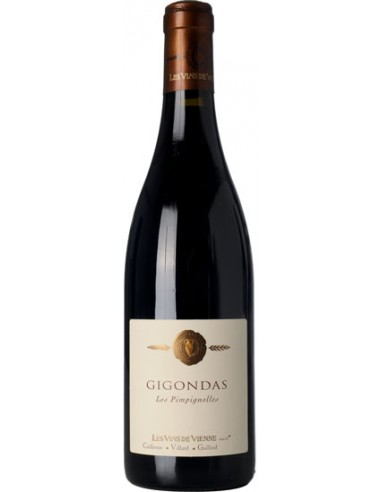 Vin Gigondas Les Pimpignoles 2016 - Les Vins de Vienne - Chai N°5