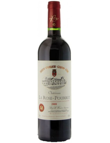 Saint-Emilion Grand Cru - 2014 - 50 cl - Château La Rose-Pourret - Chai N°5