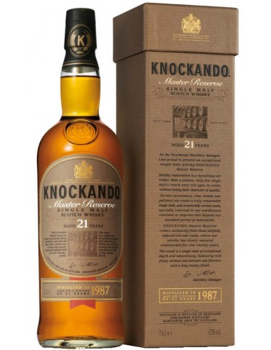 Whisky Knockando 21 ans Master Reserve - Chai N°5