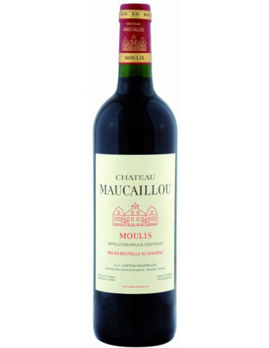 Vin Château Maucaillou 2018 Moulis en 37.5 cl - Chai N°5