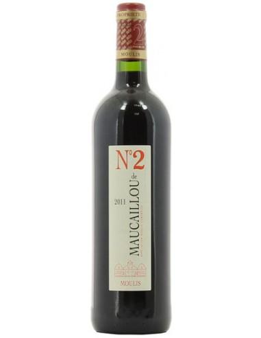 Vin N°2 de Maucaillou 2016 - Château Maucaillou - Chai N°5