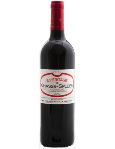 Vin L'Héritage de Chasse-Spleen 2015 Haut-Médoc - Chai N°5