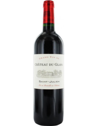 Vin Château du Glana 2015 Saint-Julien - 37.5 cl - Chai N°5