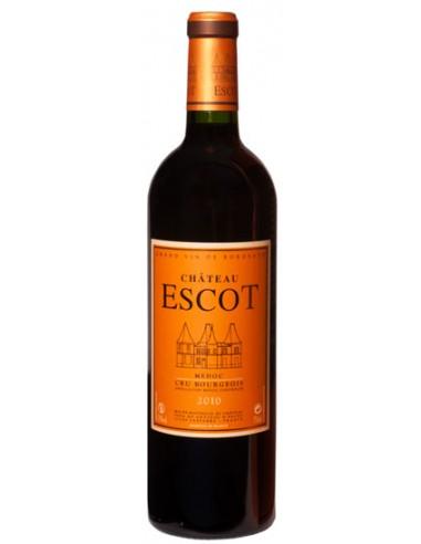 Vin Château d'Escot 2012 Médoc - Chai N°5