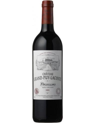 Vin Château Grand-Puy-Lacoste 2003 Pauillac Grand Cru Classé - Chai N°5