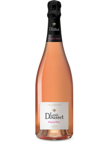 Champagne Louis Dousset Rosé Brut Original - Chai N°5